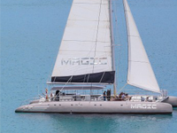 largest exclusive sailing catamaran
